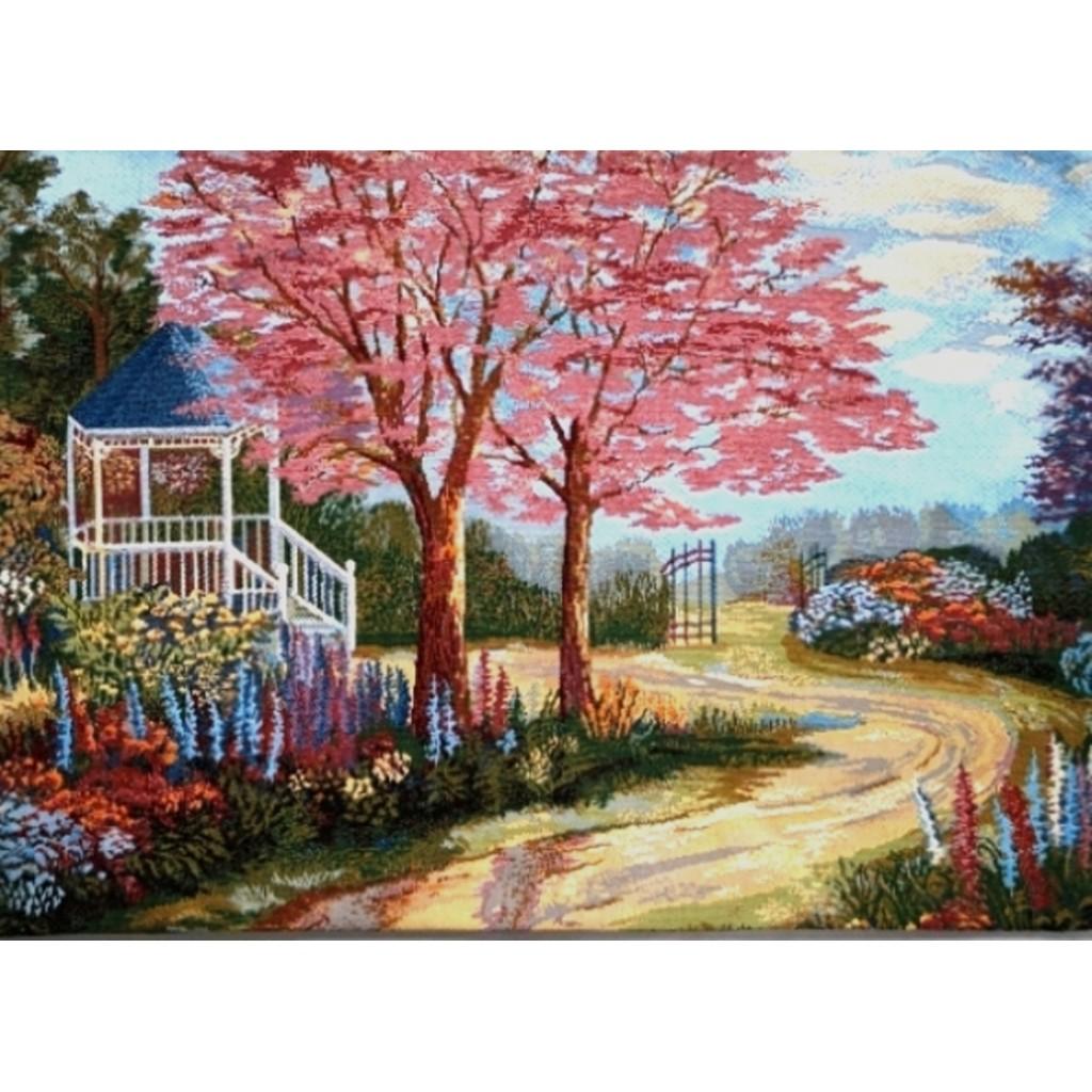 """Панно """"Розовый сад"""""""