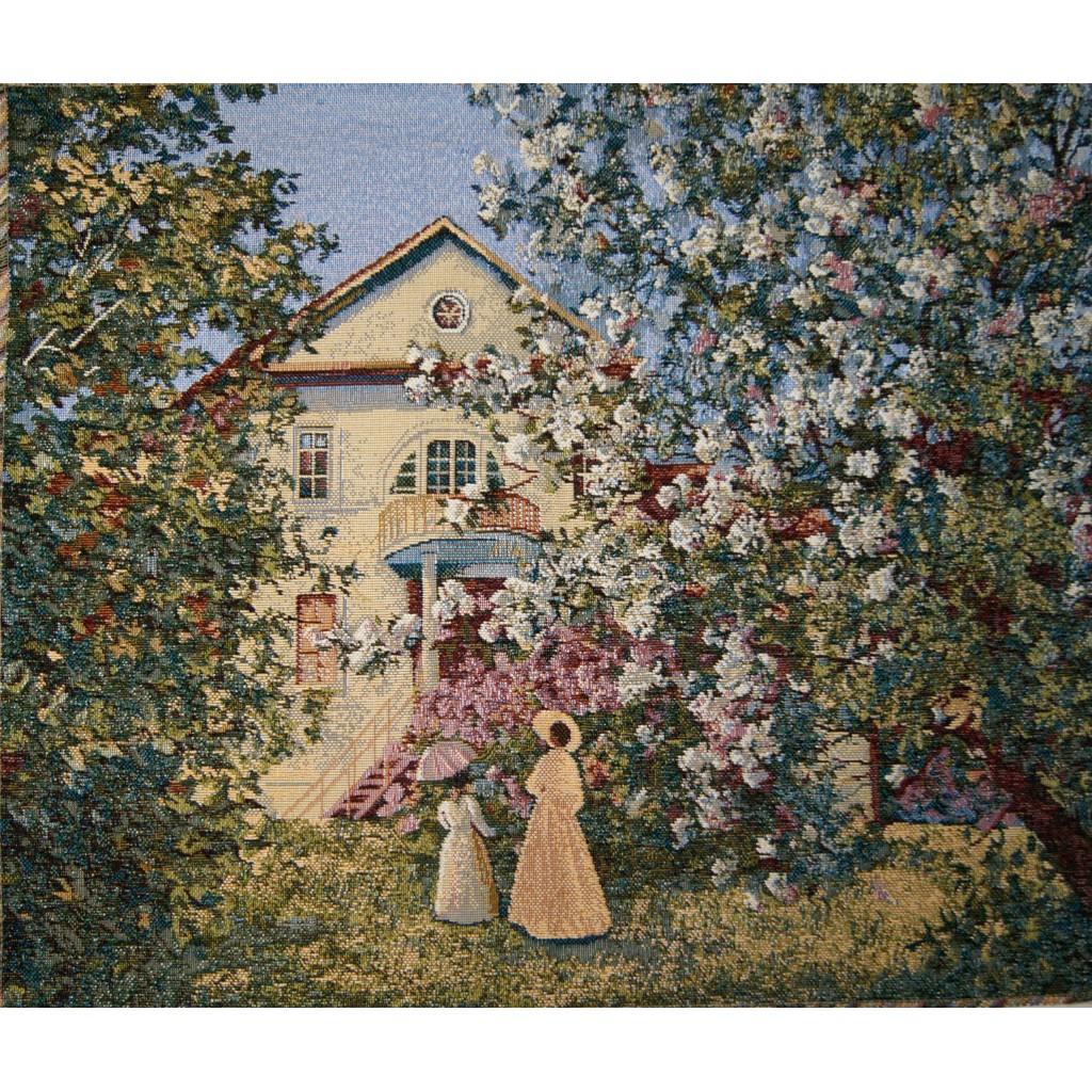 """Картина """"Прогулка в саду"""""""