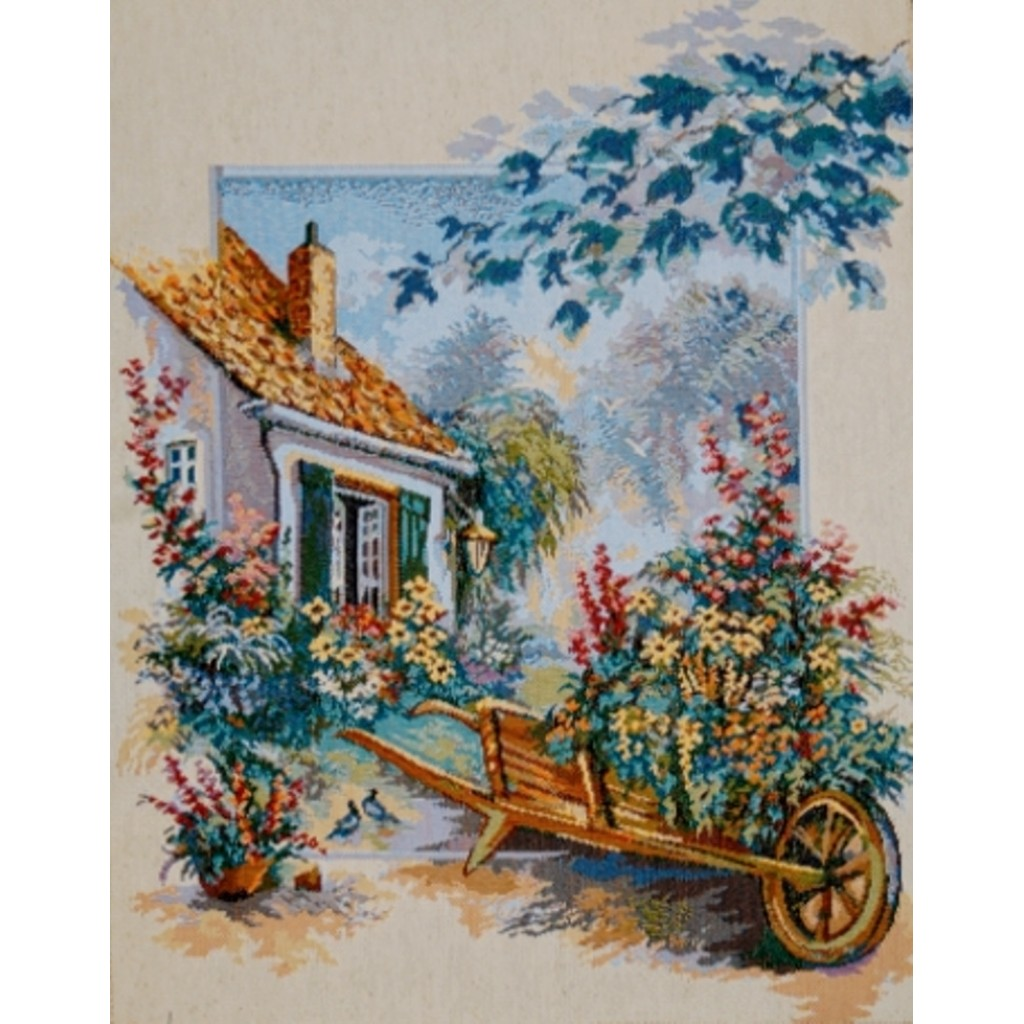 "Картина ""Тележка садовника"""