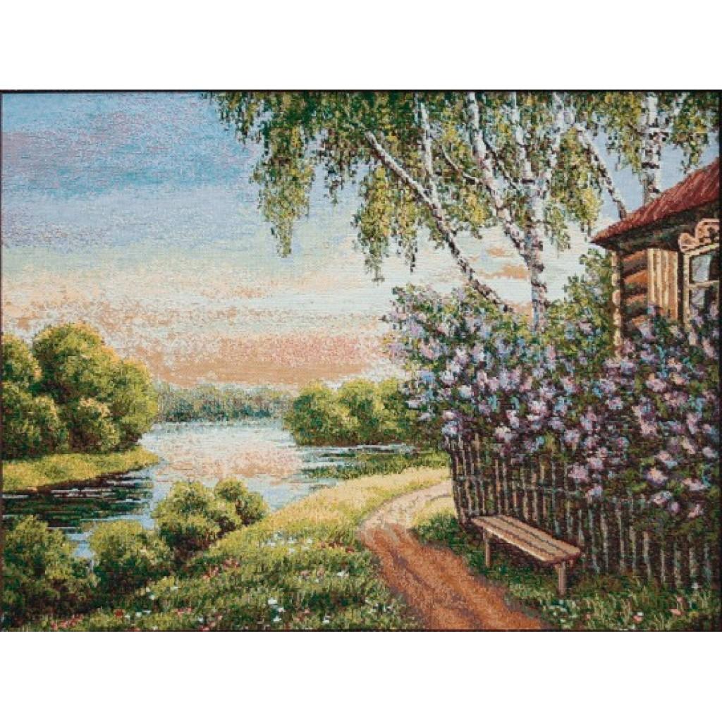 """Картина """"Сиреневый сад"""""""