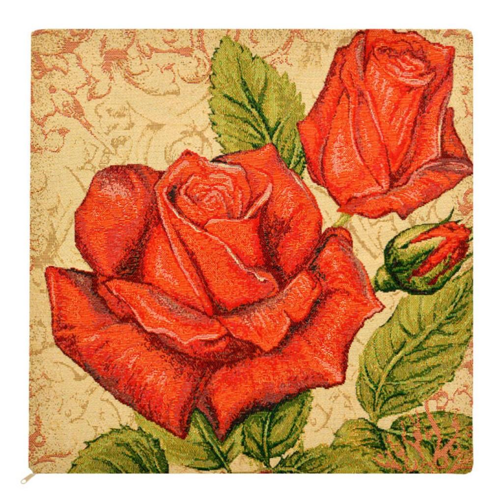 """Наволочка """"Розы красные"""""""