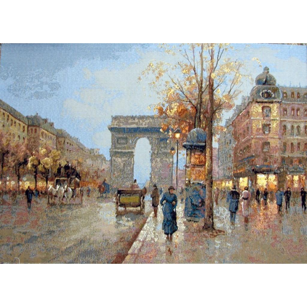 """Картина """"Вечерний Париж"""""""