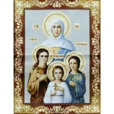 """Картина """"Икона Вера,Надежда,Любовь и мать их Софья"""""""