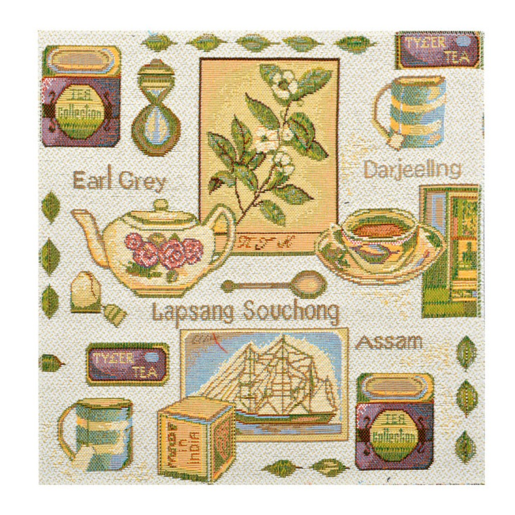 "Салфетка из гобелена ""Мятный чай"""