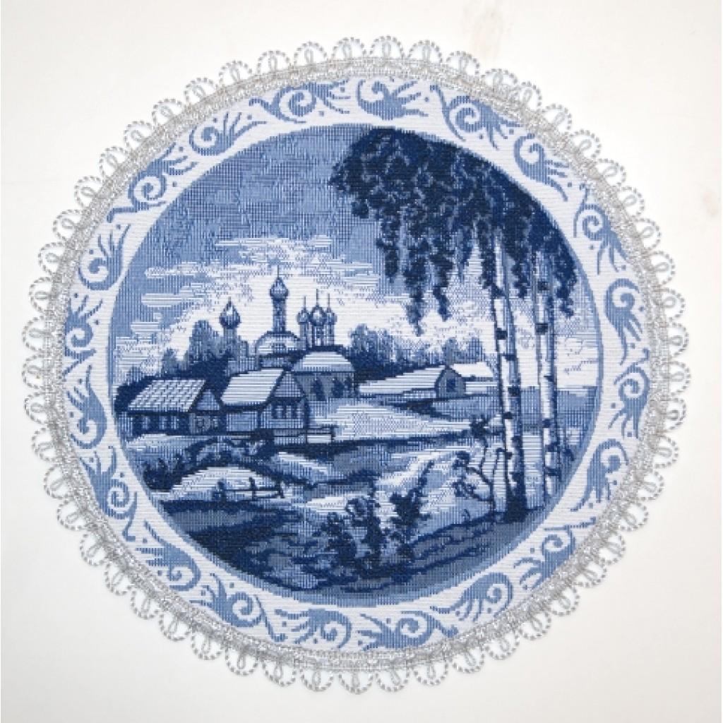 "Салфетка из гобелена ""Изразцы""(храм)"