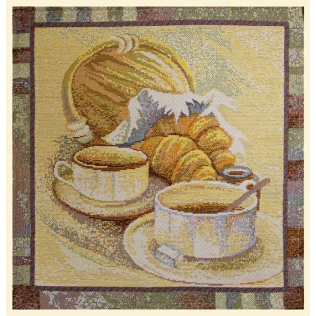 "Салфетка из гобелена ""Французский завтрак"""