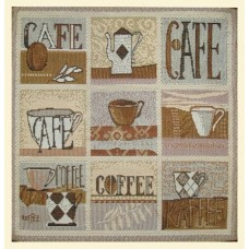 """Салфетка из гобелена """"Кафе"""""""